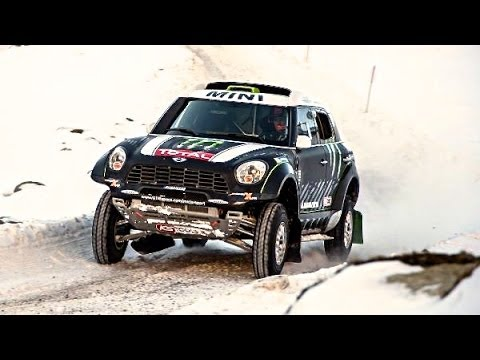 MINI ALL4 Dakar Rally 2014 Winner First Place Mini JCW ALL4 Commercial Carjam TV HD Best Car TV Show