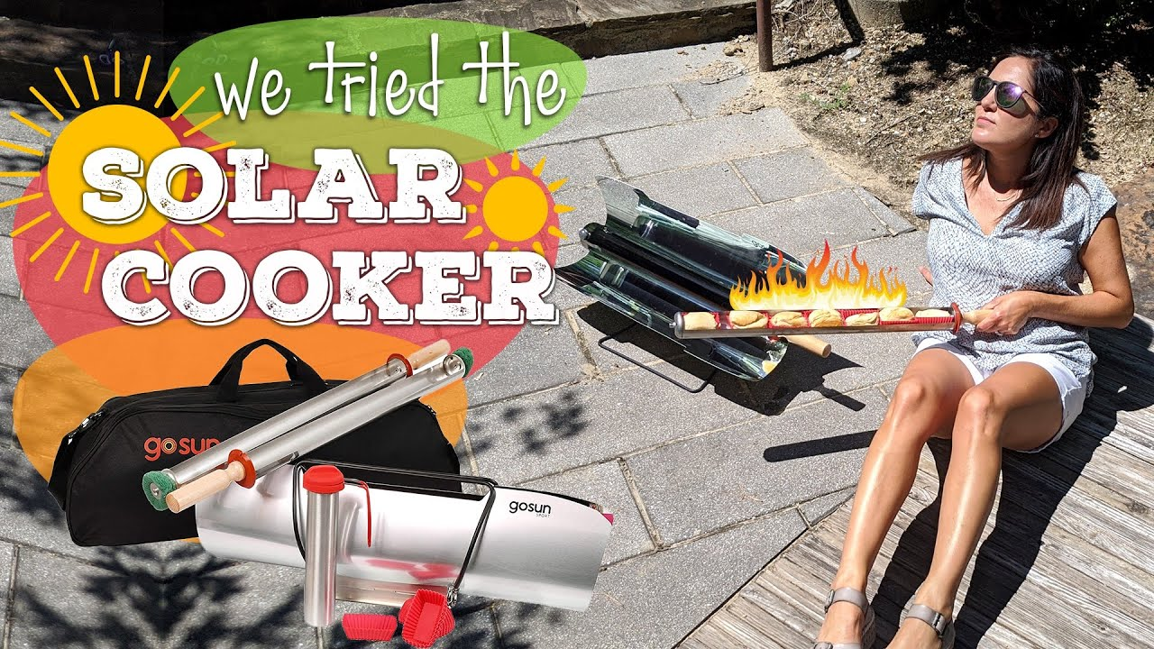 Does the Solar Cooker Really Work? Yes! | We Tried the GoSun Sport Solar Oven | Product Review