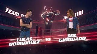 ¡tini Stoessel, Cali Y El Dandee Preparan A Lucas Y Sol Para La Batalla! - La Voz Argentina 2018