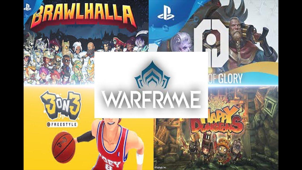 Top 5 Mejores Juegos Gratis De Ps4 2019 Parte 2 Youtube
