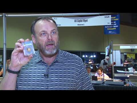 AU Capital: Long Beach Expo Market Report: 1887 $5 Gold Proof. VIDEO: 3:37.