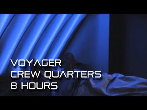 Star Trek: Voyager Crew Quarters Ambience (for sleep) *8 Hou