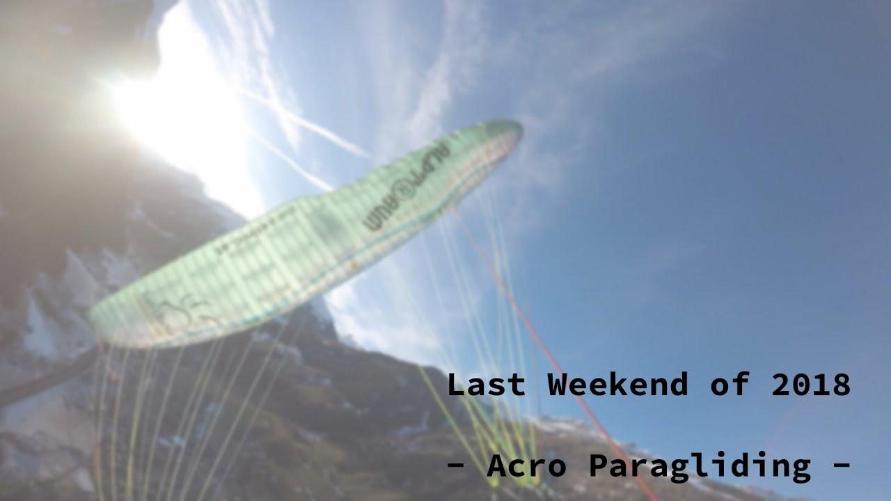 Last Weekend of 2018 - Acro Training | justACRO com