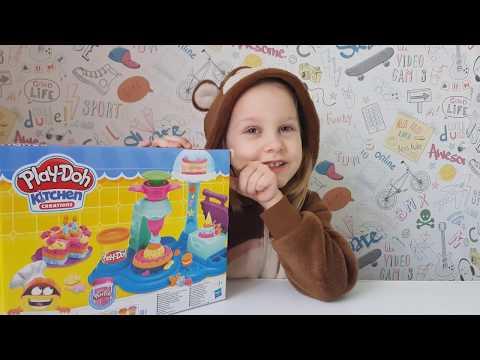 Игровой набор Play-Doh Сладкая вечеринка (B3399)