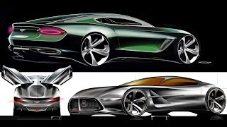 Bentley Exterior Design Director on the EXP10 Speed6 Concept