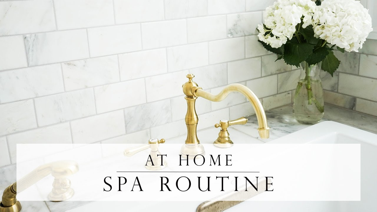 AT HOME SPA DAY ROUTINE - YouTube