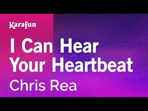 Karaoke I Can Hear Your Heartbeat - Chris Rea *