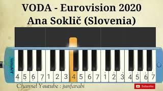 Ana Soklič (Slovenia) - VODA - Eurovision 2020 - melodika instrumental