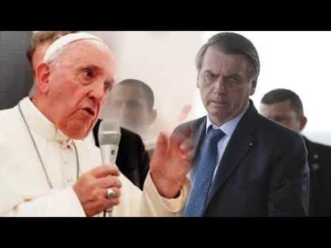 Mídia Internacional Já Divulga Conflito De Bolsonaro Com O Papa Francisco