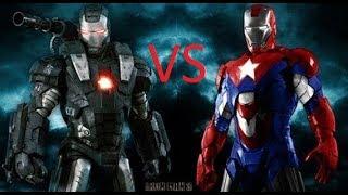 War Machine Vs Iron Patriot / EPIC DEATH BATTLE!