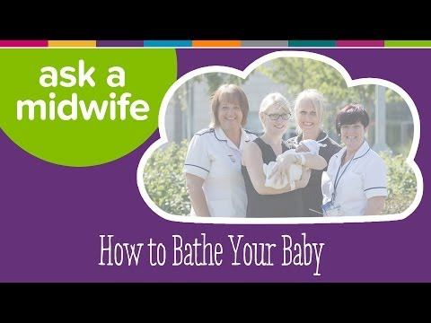 How to Bathe Your Baby - Ask a Midwife | Kiddicare
