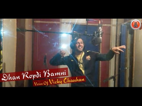Making Of Latest Himachali Pahari Song 2016 | Dhan Ropdi Bamni By Vicky Chauhan | Music HunterZ