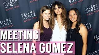 Meeting Selena Gomez + Revival Tour Nashville Vlog!