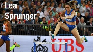 Lea Sprunger - UBS Kids Cup Botschafterin in Action