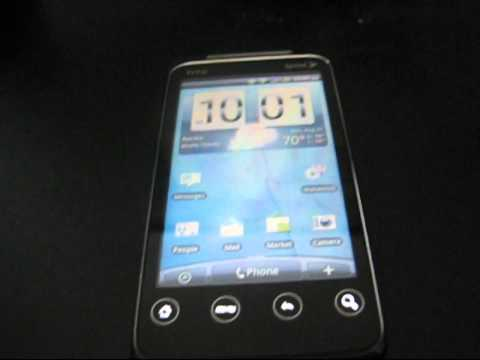 How to unroot the HTC EVO Shift 4G to stock Android 2.2