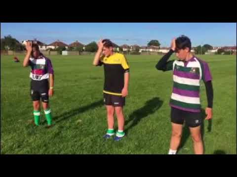 Bognor RFC RFU / Bath University Anti Concussion & Injury Prevention Warm Up