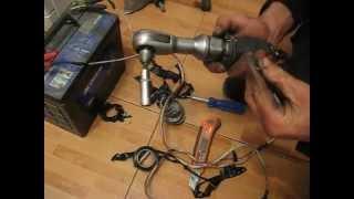ключ трещетка 12 вольт  ratchet wrench 12 volt