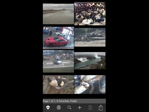 Live Cams Pro - Foscam / Multi IP Camera Viewer for both iPhone and iPad
