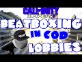 'THIS IS AWESOME!' - Beatboxing in COD Lobbies Ep.25