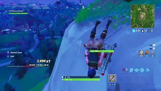 Crazy shopping cart glitch in FORTNITE BATTLE ROYALE