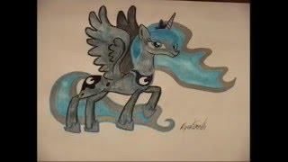 Princess Luna Speed Drawing