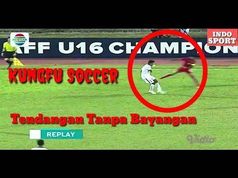 KUNGFU SOCCER - INDONESIA VS MYANMAR | AFF CHAMPIONSIP U16 2018