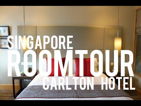 Carlton Hotel Singapore Premier Room 1881 Inside Tour