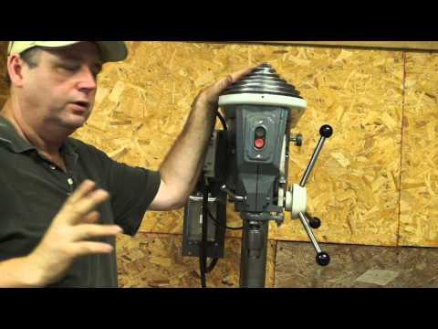 """Rockwell 15"""" Drill Press Restoration, Part 5 """"It's Alive"""""""