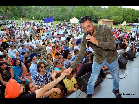 Punjabi Singers Sharry Mann at Punjabi Sports Club and Cultural Club Chicago annual Punjabi Mela
