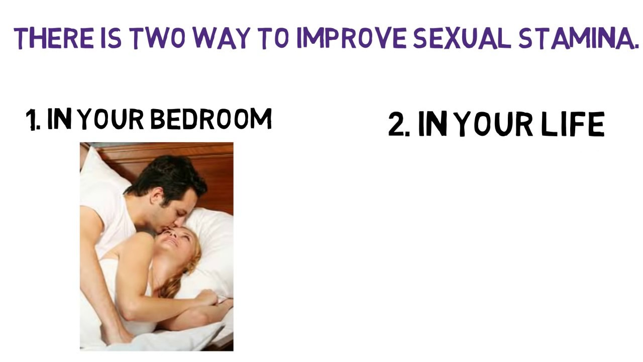 How to increase sex stamina in men