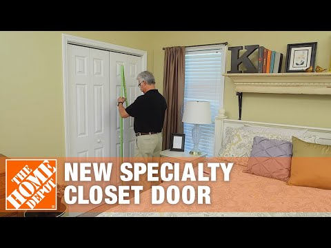How To Measure For A New Specialty Closet Door | The Home Depot