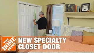 How To Measure For A New Specialty Closet Door - The Home Depot