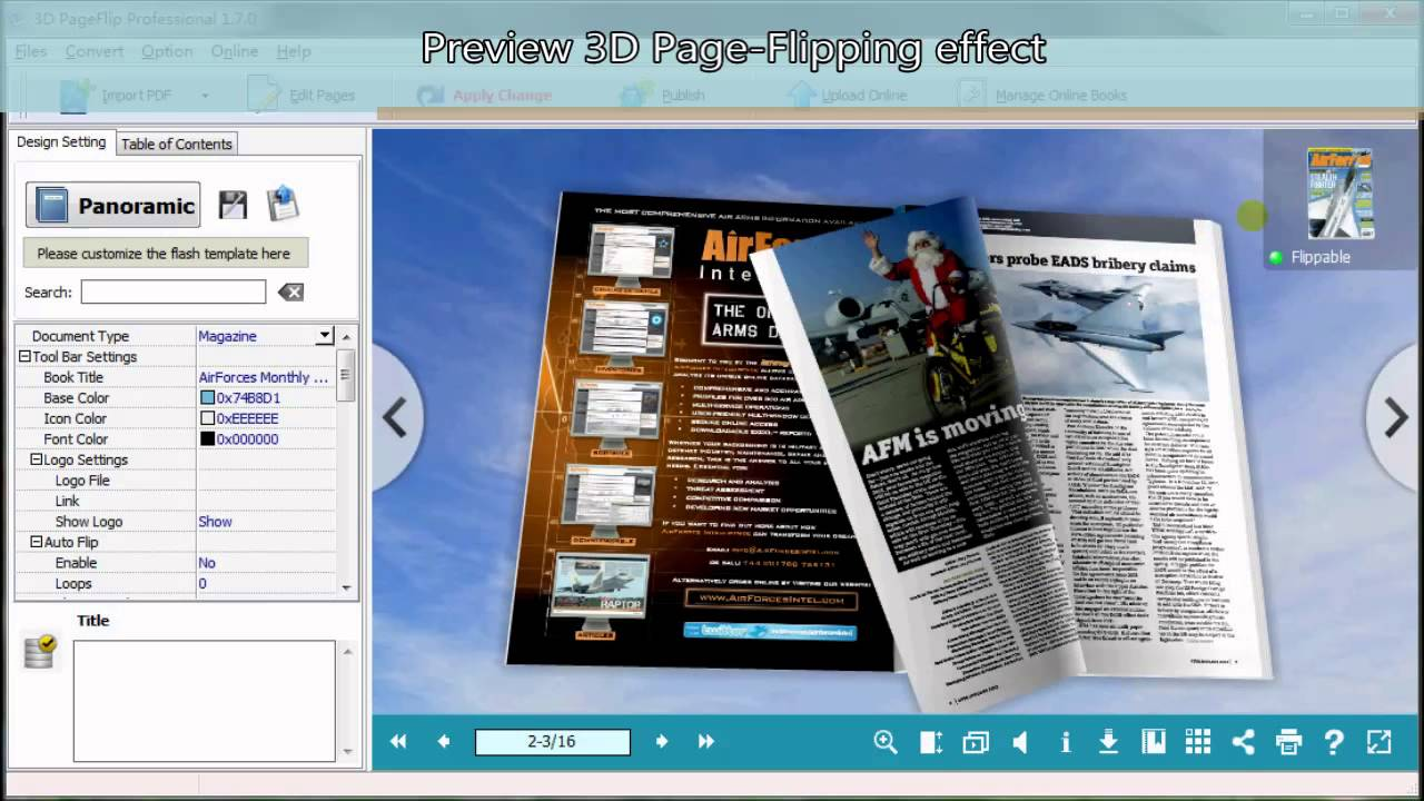 3d Flipbook Course How To Create Html5 Flipbok With 3d Pageflip