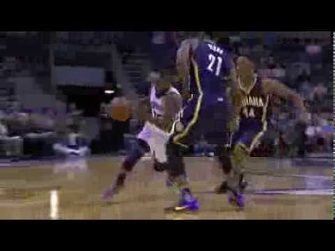 Kemba Walker with the Sweet Behind-the-Back Pass