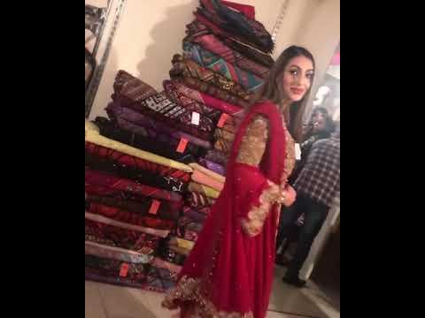 Red Latest anarkali Designer Wedding Dress Pakistani Collection voguemart5 Sakshi