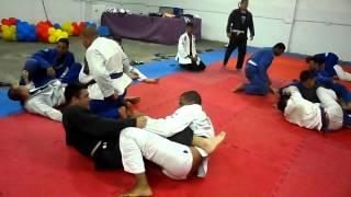 Rola tranquilo da equipe Alcateia Brazilian jiu-jitsu