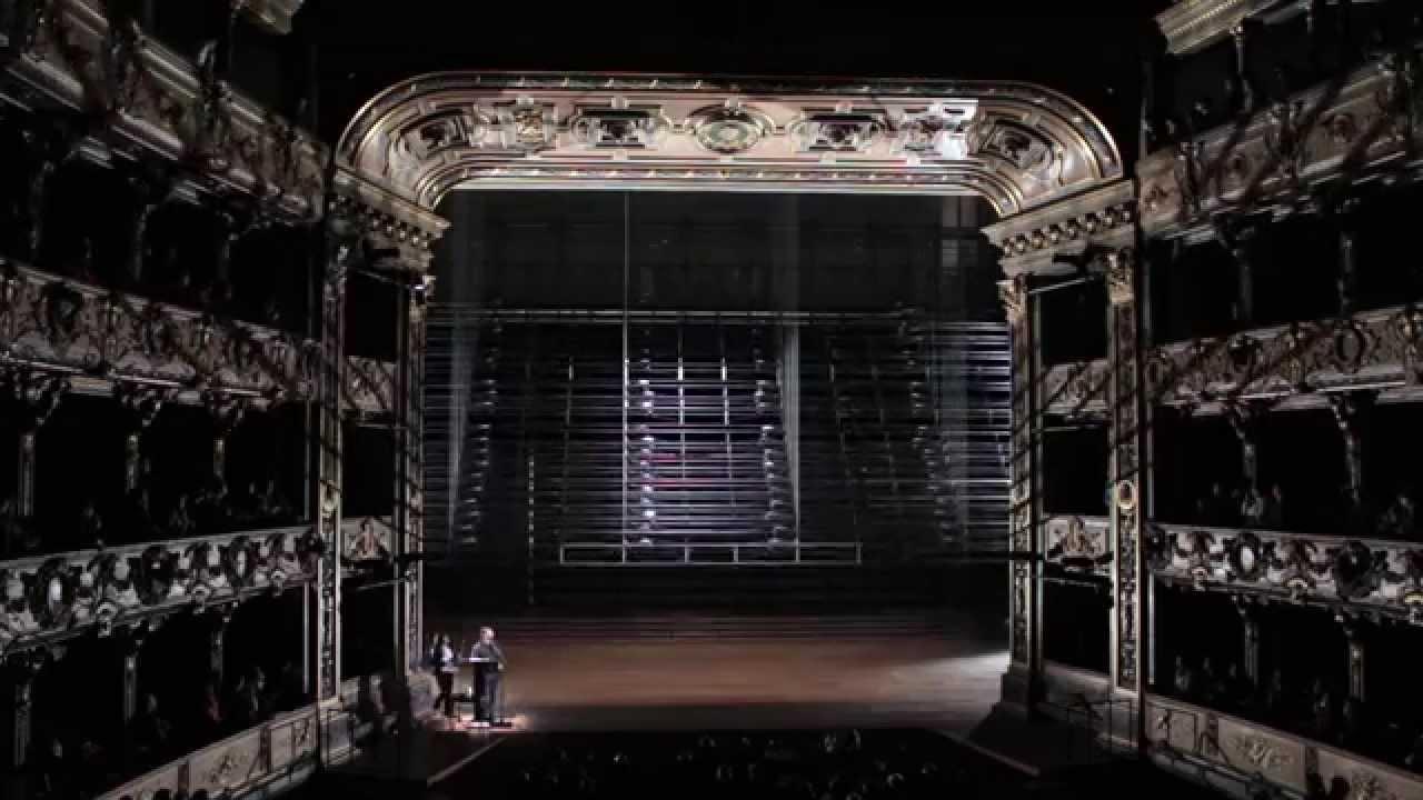 El Teatro Colón estrena una nueva maquinaria teatral - YouTube