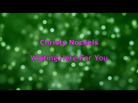 Waiting Here For You - Christy Nockels (lyrics on screen) HD