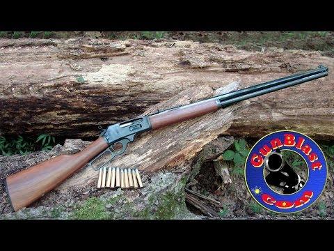 Shooting the New Marlin Model 1895 Cowboy 45-70 Lever-Action Rifle - Gunblast.com