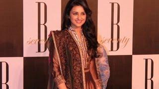 Parineeti Chopra @ Amitabh Bachchan's 70th Birthday Party !