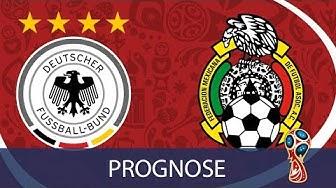 Deutschland - Mexiko - 1. Gruppenspiel - WM Prognose / Highlights ⚽