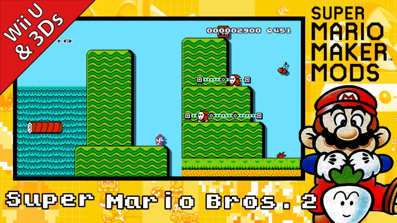 New super mario bros. 2 buying & downloading from nintendo 3ds.