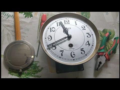 Эти часы не шли 30 лет, ремонт старых часов