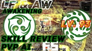 Dragon Nest Korea : Light Fury & Abyss Walker Awakening Skills Review [PvP AI]