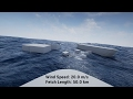 Unreal Engine 4: Sea State Transitions with Physical Water Surface