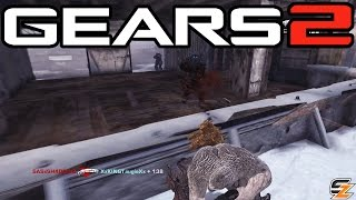 Gears of War 2 Xbox One - Around the World Avalanche! (Multiplayer Gameplay)