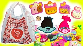 Surprise Blind Bags Dreamworks Trolls, Shopkins, Scented Num Noms Target Toy Haul
