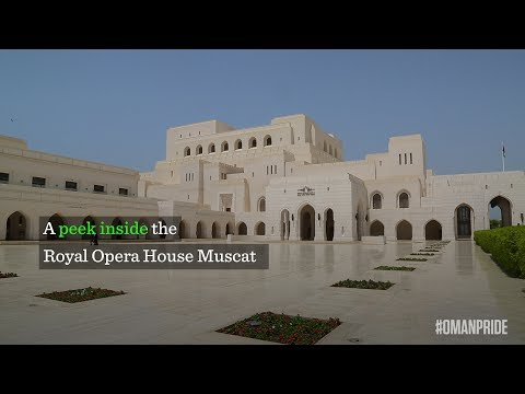 A peek inside the Royal Opera House Muscat