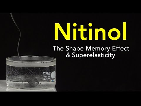 Nitinol: The Shape Memory Effect and Superelasticity