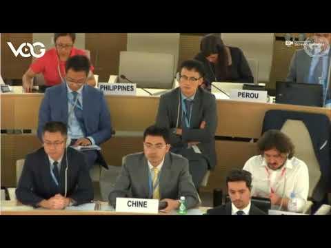 何韵诗在联合国人权理事会发言字幕版